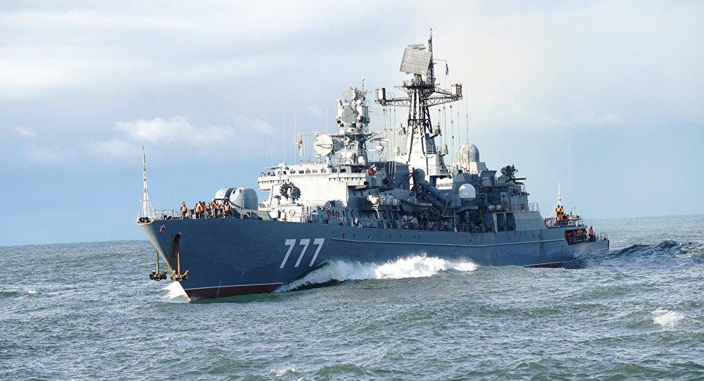 سفينة خفر روسية