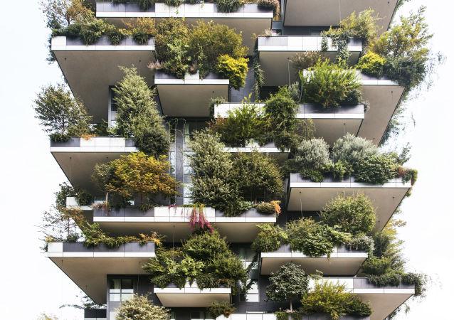 مشروع معماري لمبنى Bosco Verticale في إيطاليا، الحاصل على جائزة RIBA AWARD for International Excellence