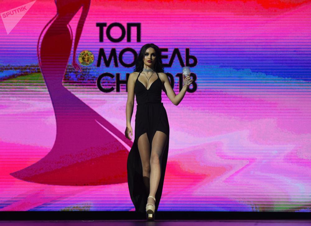 يفا بوغداساريان، المركز الرابع في مسابقة توب موديل لرابطة الدول المستقلة 2018 في يريفان، أرمينيا