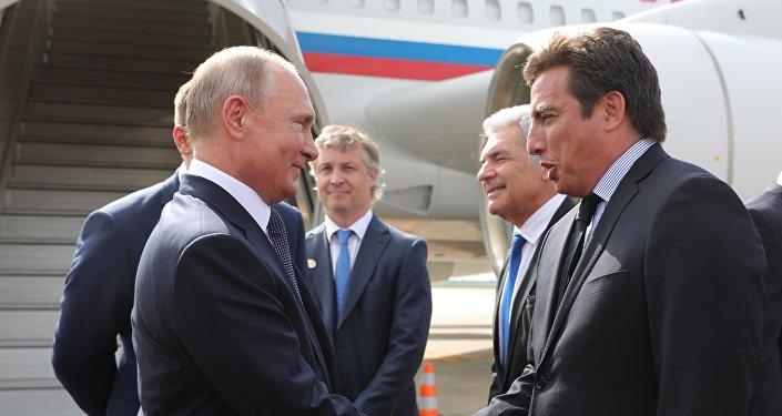 فلاديمير بوتين في قمة العشرين