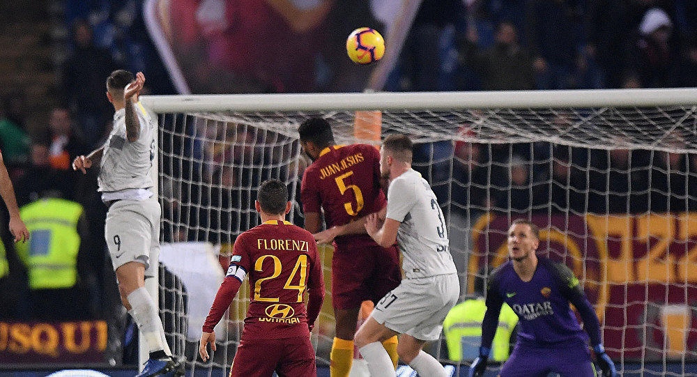 مباراة روما و إنترناسيونالي