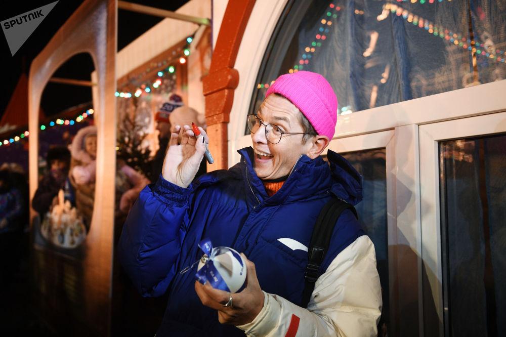 افتتاح حلبة التزلج على الساحة الحمراء في موسكو - المصمم فلاد ليسوفيتس
