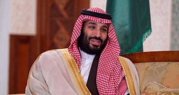 ولي العهد السعودي الأمير محمد بن سلمان أثناء زيارته إلى الجزائر