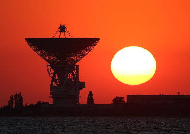 راديو تلسكوب بي - 2500 (أر تي-70)، بالقرب من يفباتوريا