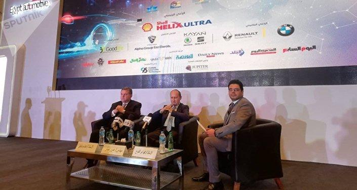 وزير التجارة والصناعة المصري
