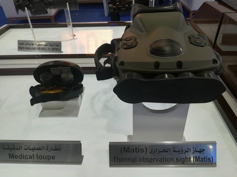 معرض الأسلحة إيديكس 2018 في العاصمة المصرية القاهرة тепловизор