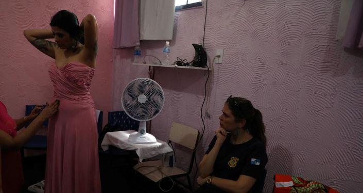 مسابقة ملكة جمال السجون تالافيرا بريوس في البرازيل، 4 ديسمبر/ كانون الأول 2018 - المشاركات في المسابقة التي تقام للمرة الـ 13 على التوالي في ريو دي جانيرو