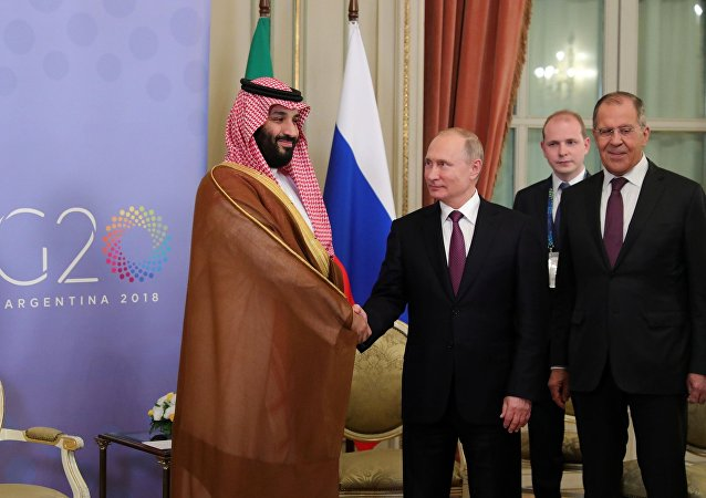 لقاء الرئيس الروسي فلاديمير بوتين وولي العهد السعودي محمد بن سلمان في الأرجنتين