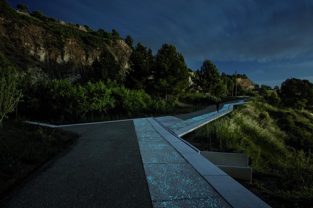 مشروع معماري لـ ممرات المشاة بالقرب من ينابيع المياه في إسبانيا، الذي فاز في فئة المناظر الطبيعية لعام 2018