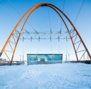 مشروع معماري لمحطة كهرباء Länsisalmi في فنلندا، الذي فاز في فئة مشروع المباني المكتملة للطاقة الانتاجية وإعادة التدوير
