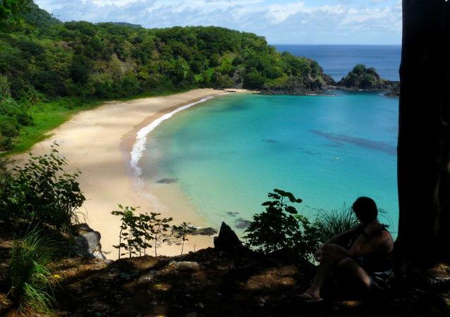 شاطئ بايا دو سانشو، البرازيل