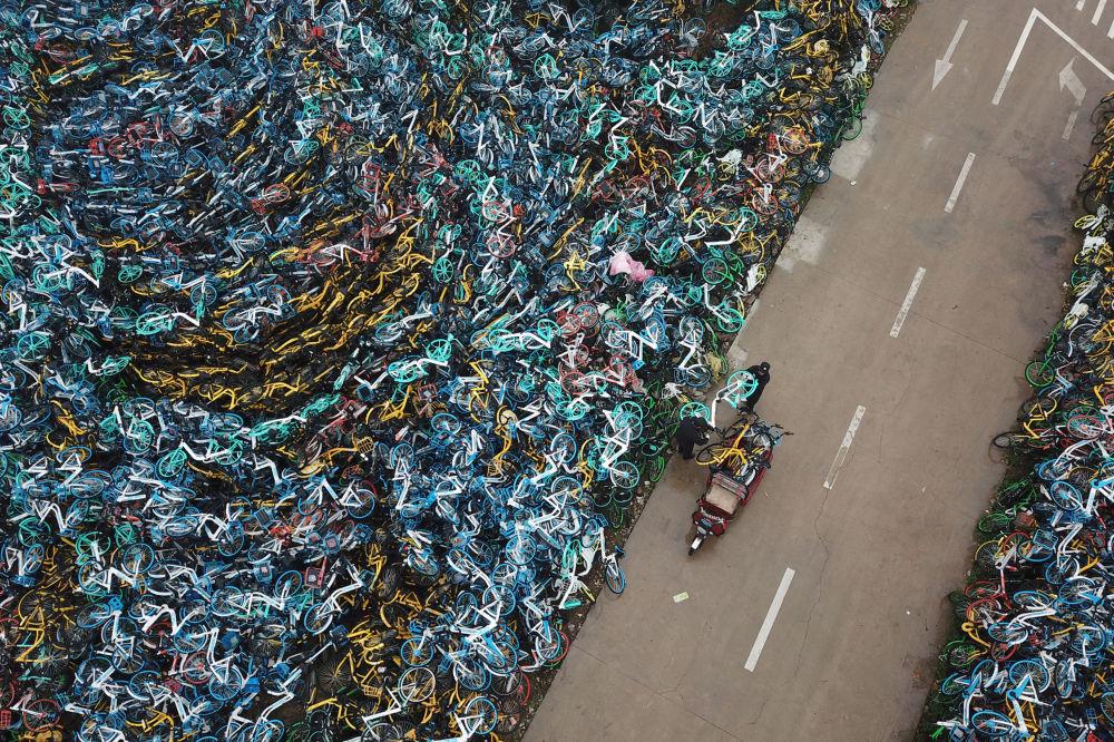 مقبرة الدراجات الهوائية في هيفي، الصين 3 ديسمبر/ كانون الأول 2018
