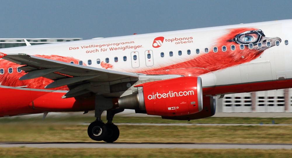 طائرة لشركة الطيران Air Berlin الألمانية