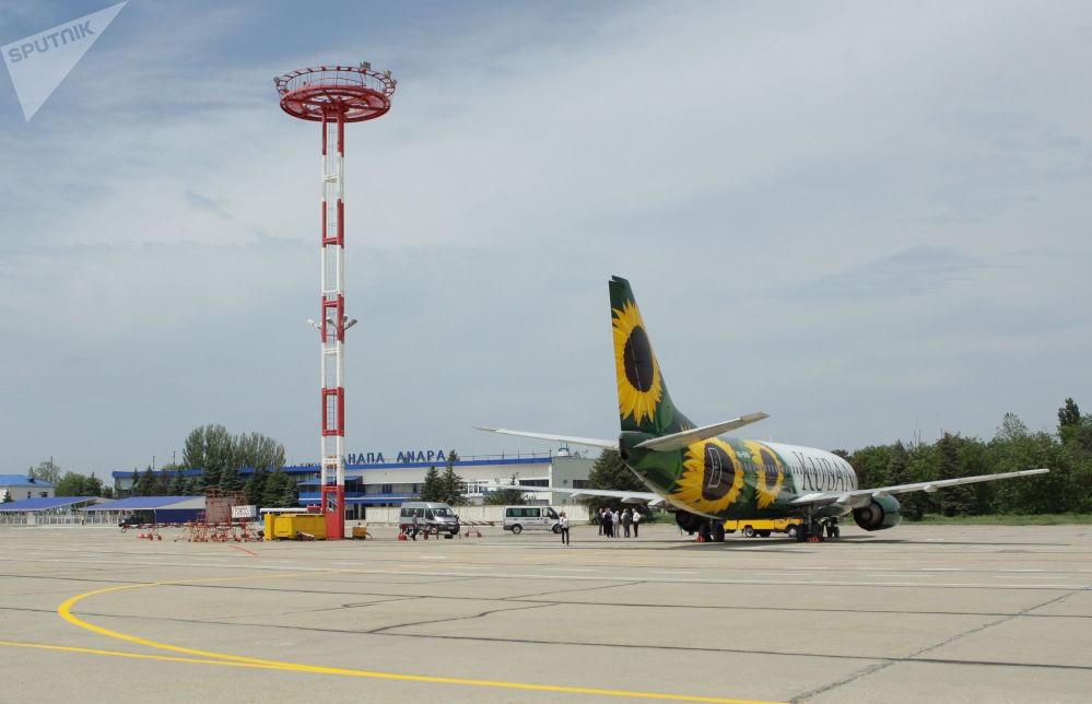 طائرات لشركة الطيران كوبان الروسية