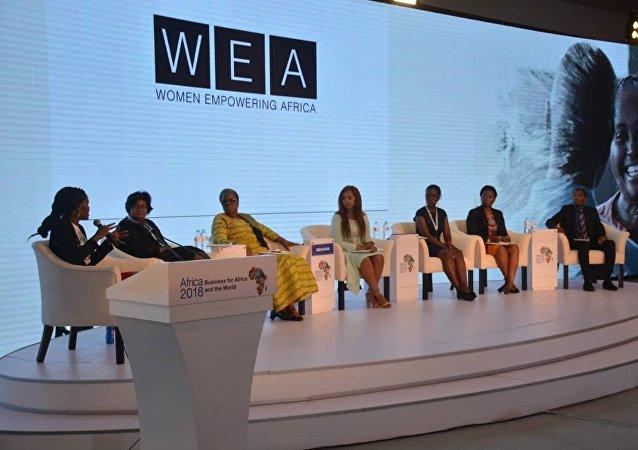 جلسة سياسة وتوجيه الأعمال خلال منتدى إفريقيا ٢٠١٨
