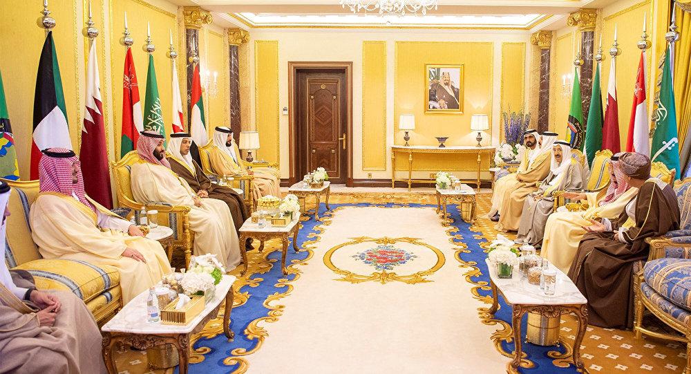 زعماء مجلس التعاون الخليجي خلال القمة الخليجية في العاصمة السعودية الرياض