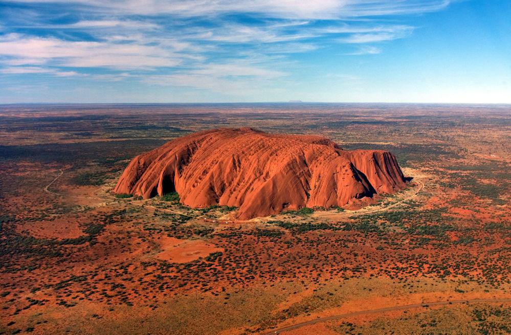 أولورو هو تكوين صخري يقع في الجزء الجنوبي من الإقليم الشمالي، وسط أستراليا