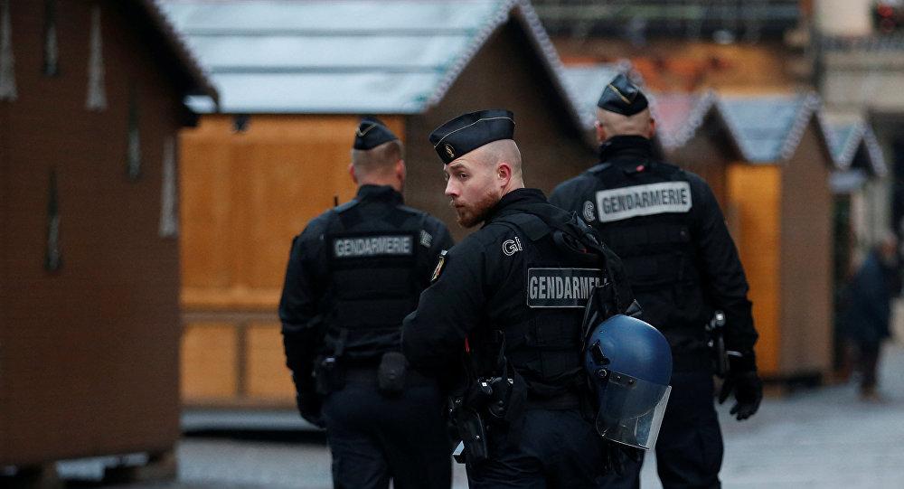 الشرطة الفرنسية في ستراسبورغ
