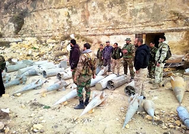 الأمن السوري يضبط صواريخ (أرض جو) على بعد أمتار من الأردن