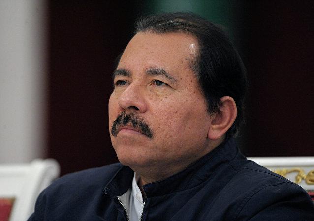الرئيس النيكاراغوي، دانييل أورتيغا
