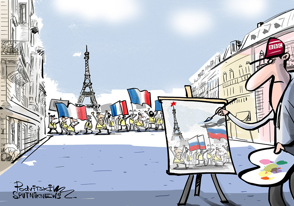 هل من أثر روسي في الاحتجاجات الفرنسية