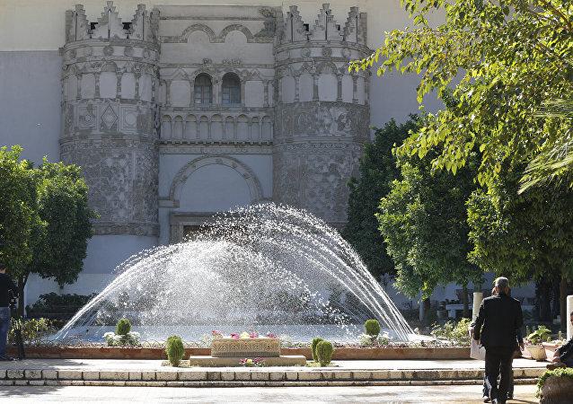 مناظر عامة للمدن العربية - مدينة دمشق، متحف الآثار الوطني، سوريا 28 أكتوبر/ تشرين الأول 2018