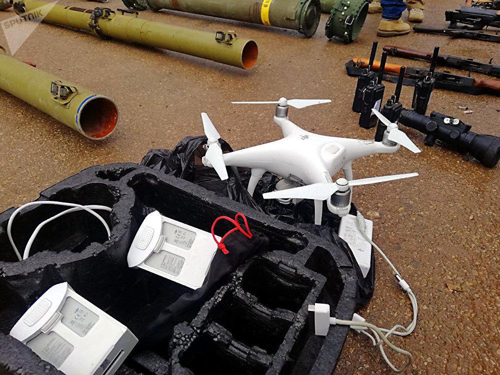 القوات السورية والروسية تضبط مستودعا للأسلحة والعتاد في درعا оружие в Дераа