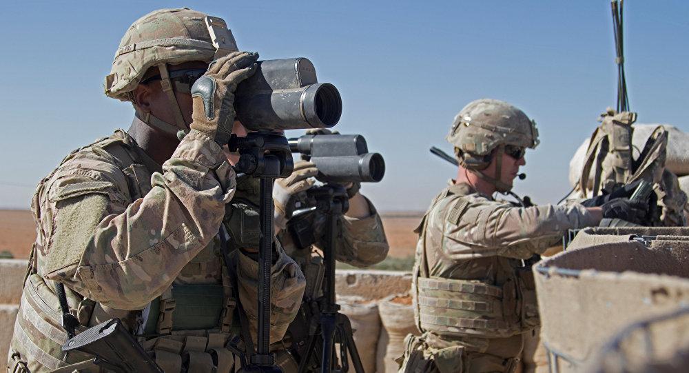 قوات الجيش الأمريكية في جولة تفقدية في منبج، سوريا 1 نوفمبر/ تشرين الثاني 2018