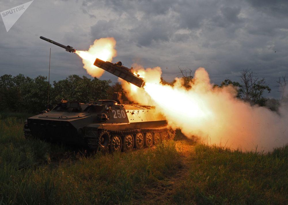 منظومة ستريلا 10 الصاروخية المضادة لأهداف جوية في كراسنودارسكي كراي، روسيا