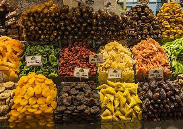 فاكهة مجففة
