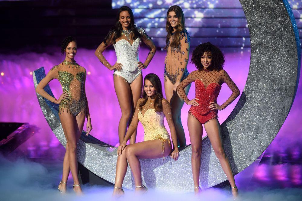 المشاركات المتأهلات إلى نهائي مسابقة ملكة جمال فرنسا 2019، في مدينة ليل، 15 ديسمبر/ كانون الأول 2018