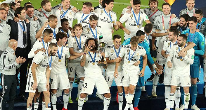 ريال مدريد يتوج بنهائي كأس العالم للأندية