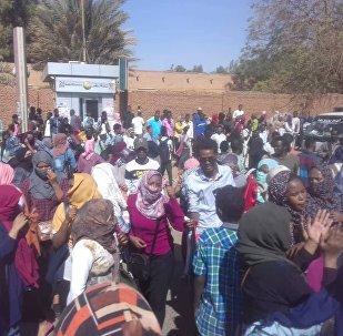 الاحتجاجات في شوارع السودان