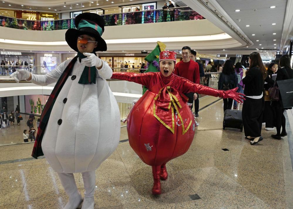 الاحتفال بعيد الميلاد الكاثوليكي في هونغ كونغ
