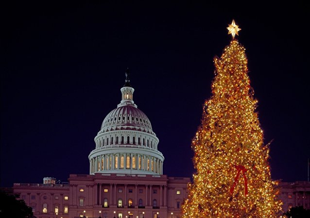 شجرة الميلاد أمام البيت الأبيض