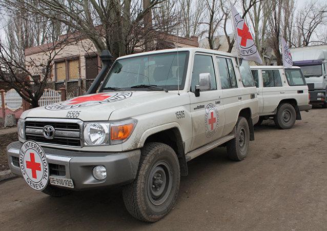 سيارات اللجنة الدولية للصليب الأحمر