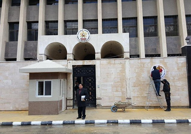 افتتاح السفارة الاماراتية في دمشق