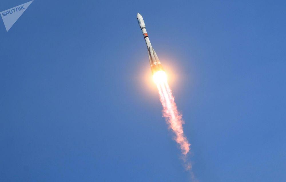 إطلاق الصاروخ سويوز 2.1 A من محطة فوستوتشني الفضائية