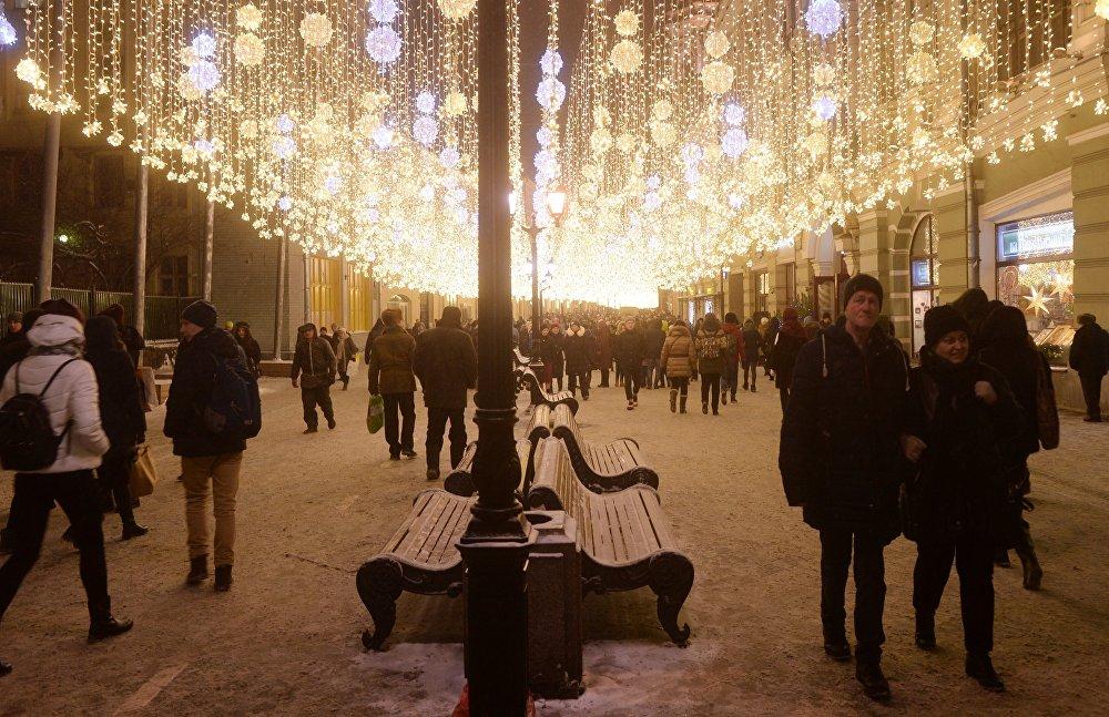 شارع نيكولسكايا في موسكو