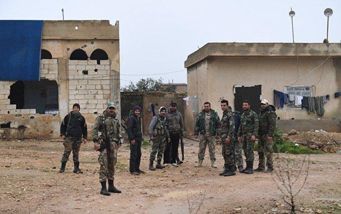 سوريا-مجلس-منبج-العسكري-يحيد-إرهابيا-بحوزته-عبوة-ناسفة-غرب-المدينة