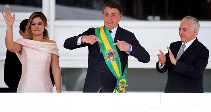 الرئيس البرازيلي الجديد جاير بولسونارو