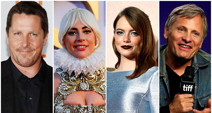 مجموعة من الممثلين المرشحين للغولدن غلوب 2019