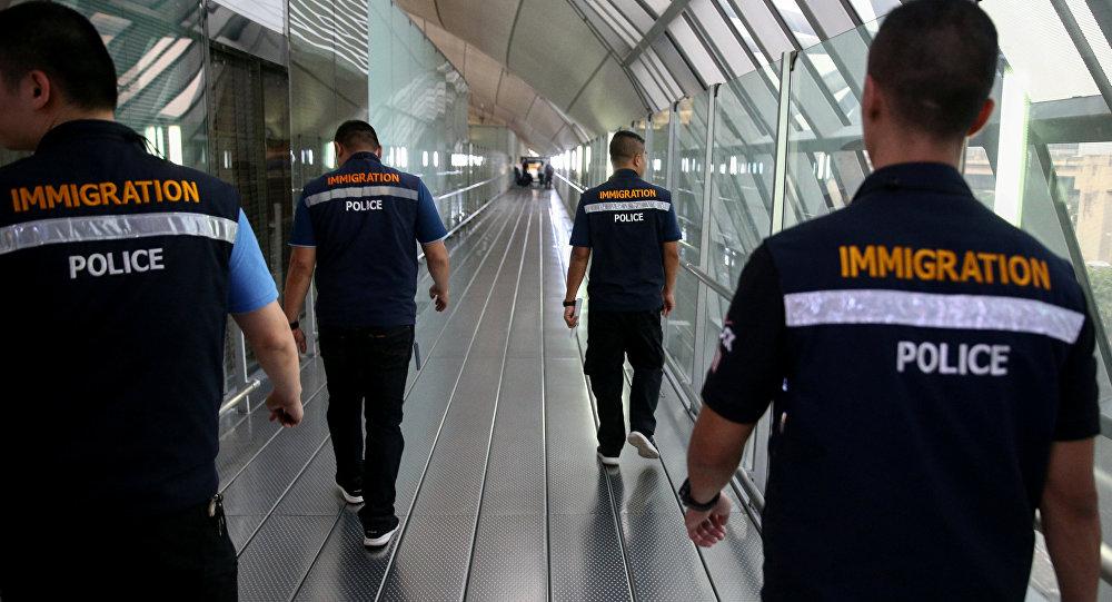 سلطات الهجرة في تايلاند
