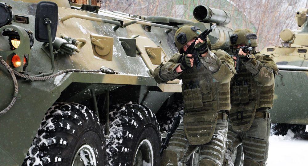 أفراد القوات المسلحة الروسية