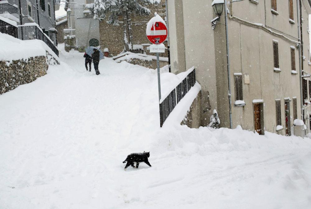 فصل الشتاء حول العالم - إيطاليا، 4 يناير/ كانون الثاني 2019