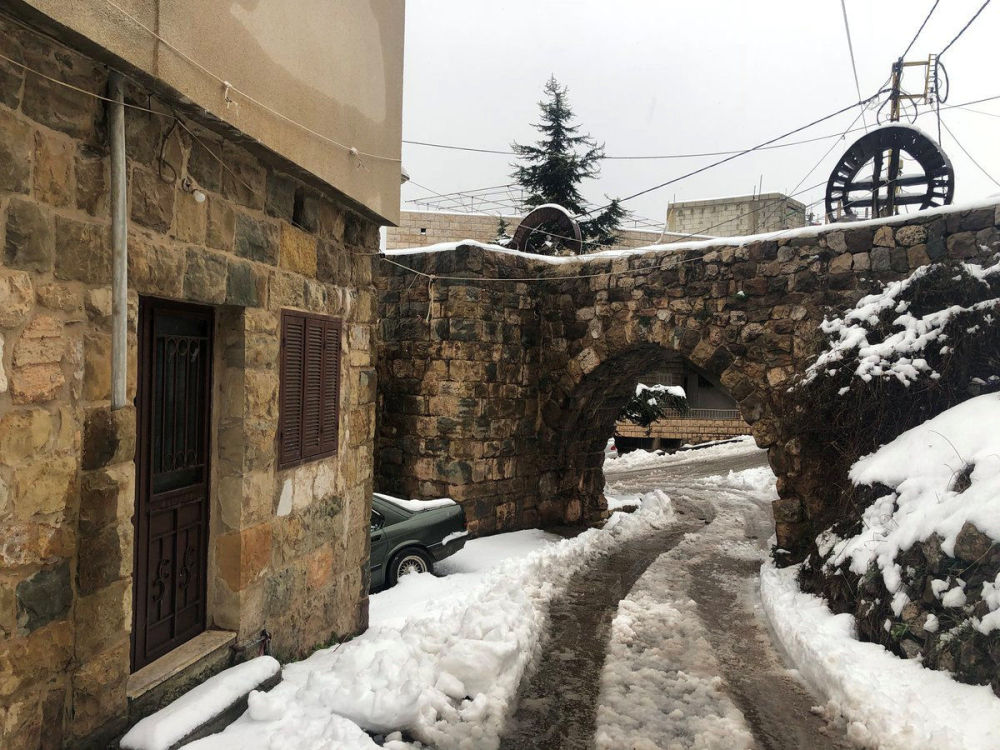 فصل الشتاء حول العالم - لبنان، 7 يناير/ كانون الثاني 2019