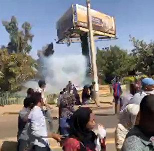 احتجاجات مدينة أم درمان في السودان