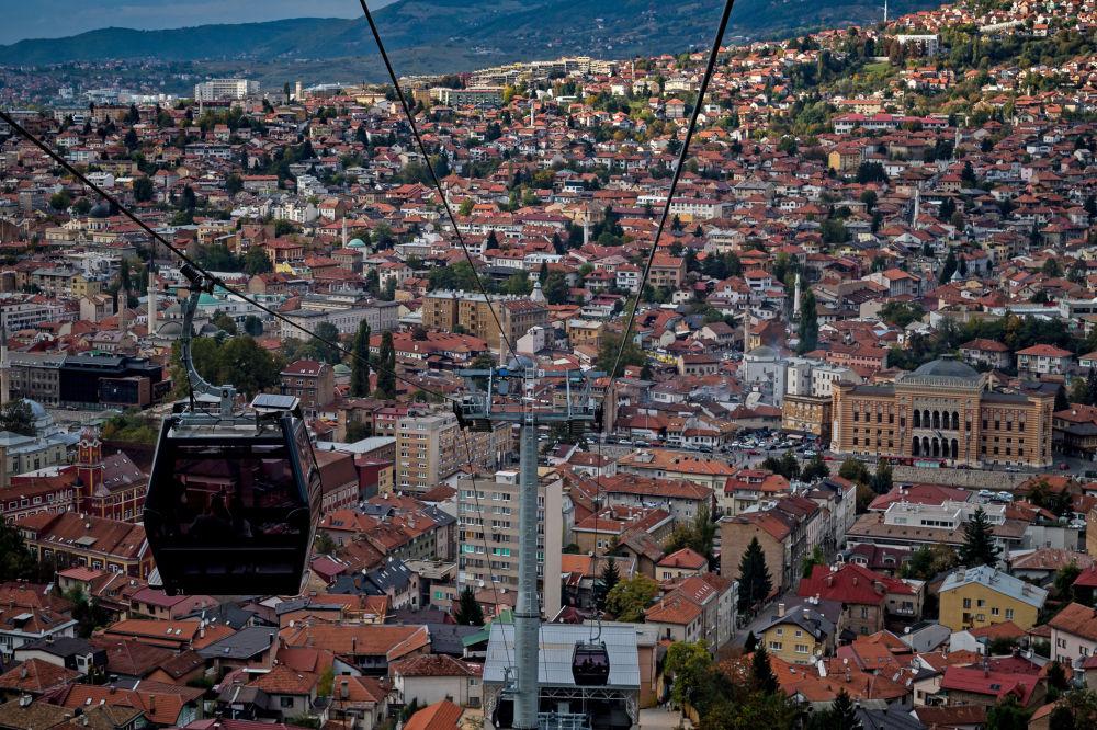 مدينة سراييفو، في البوسنة والهرسك