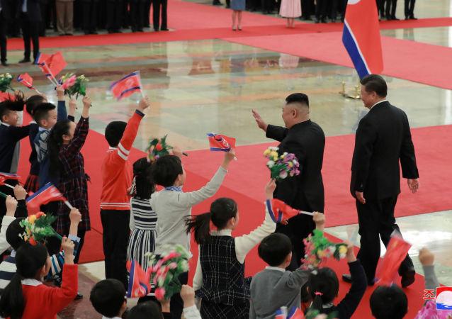 زيارة الزعيم الكوري الشمالي كيم جونغ أون إلى الصين، 10 يناير/ كانون الثاني 2019