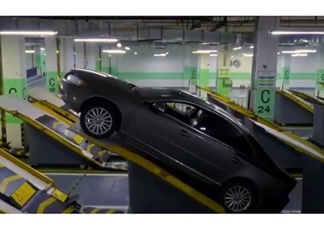 ركن السيارة في الصين